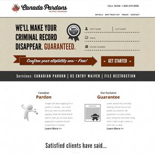 Canada Pardons